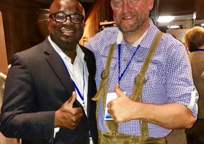 Arrey Obenson and Christof ESGC 2018