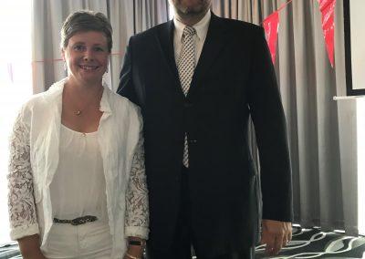 Christofer and Birgitte Wirtz ESGC 2018